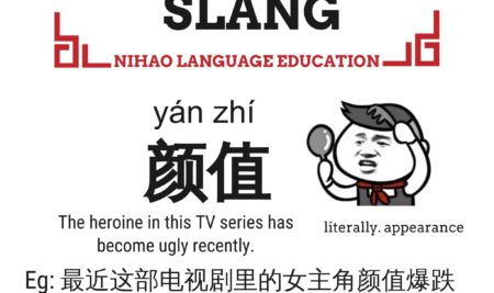 Chinese Slang Face Value-Describe Someone Appearance